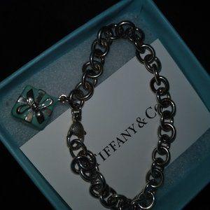 Tiffany and Co little blue box bracelet